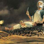 abraham Isacc obeying